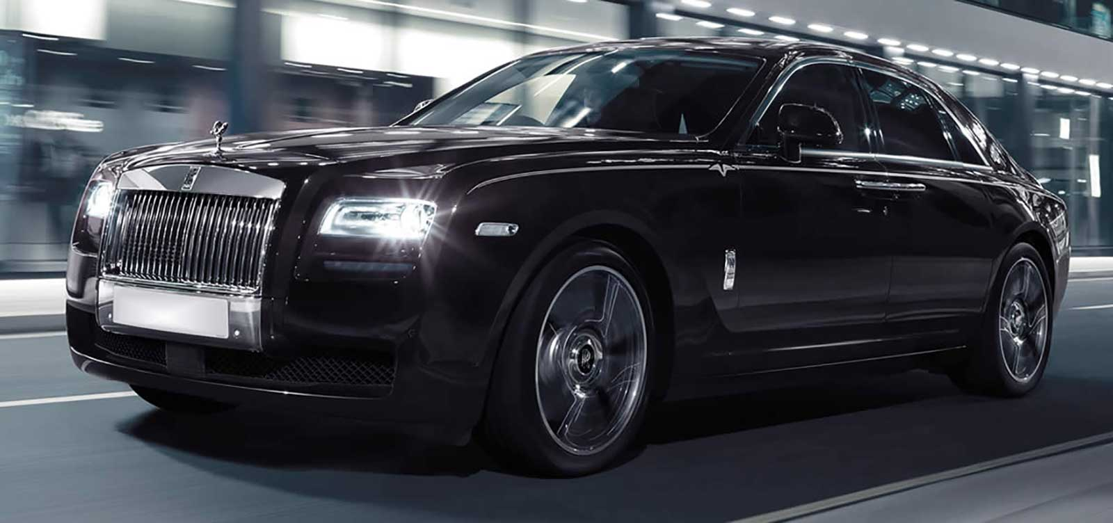 Black Rolls Royce Ghost | SPM Hire