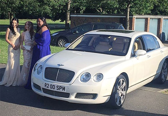 Prom Cars for Hire | SPM Hire