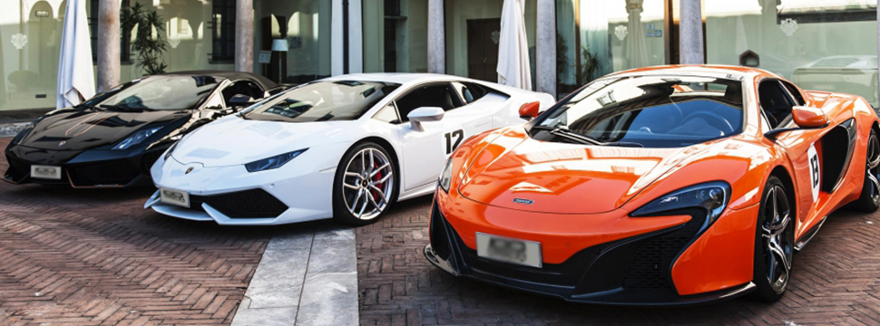 supercar rental UK