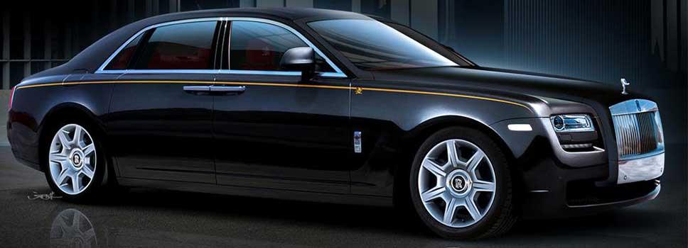 Rolls Royce Ghost Hire | SPM Hire